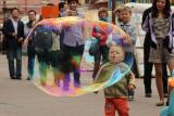 Мальчик и пузырь