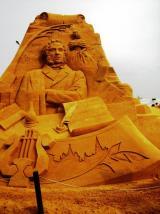 Пушкин из песка