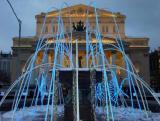 Зимний фонтан у Большого